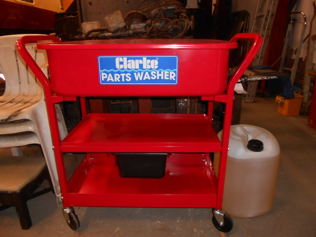 The new parts washer