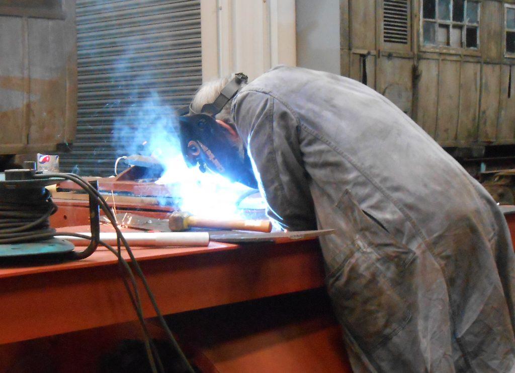 Alan welding