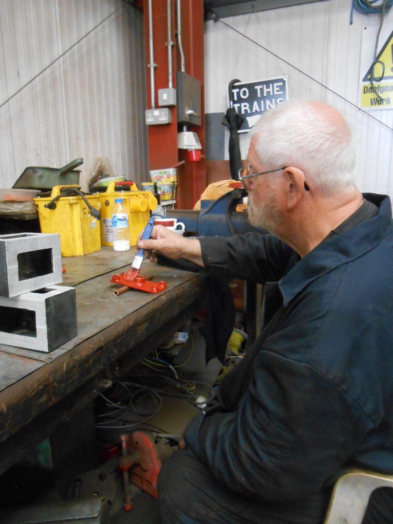 Alan Ogden at work