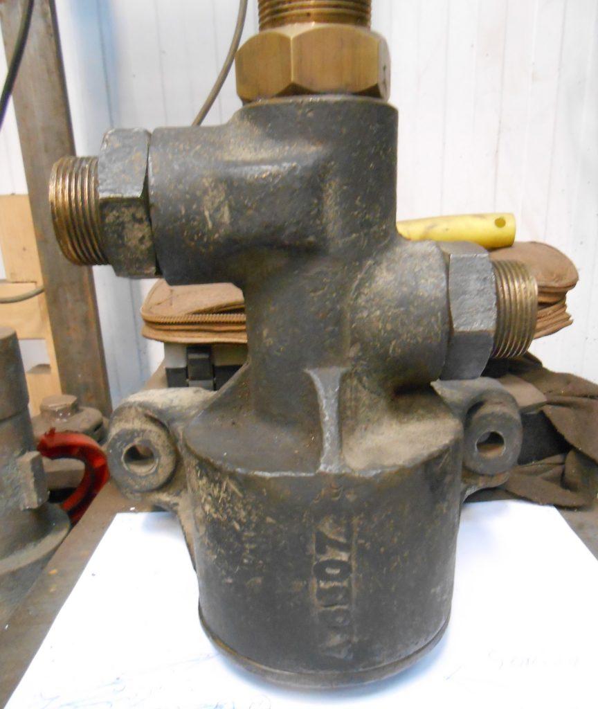 Vacuum retaining valve for Wootton Hall