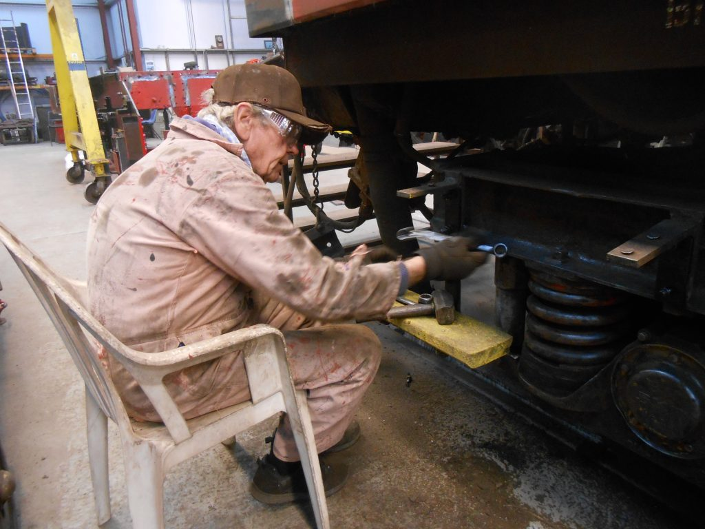 Fred removing a redundant foot step on the TPO