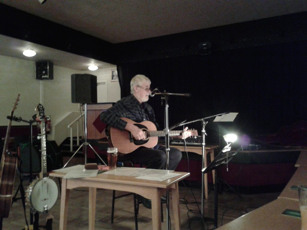 Ron Flanagan at Longridge Folk Club