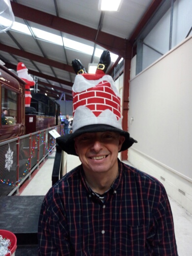 The latest in Christmas hats!