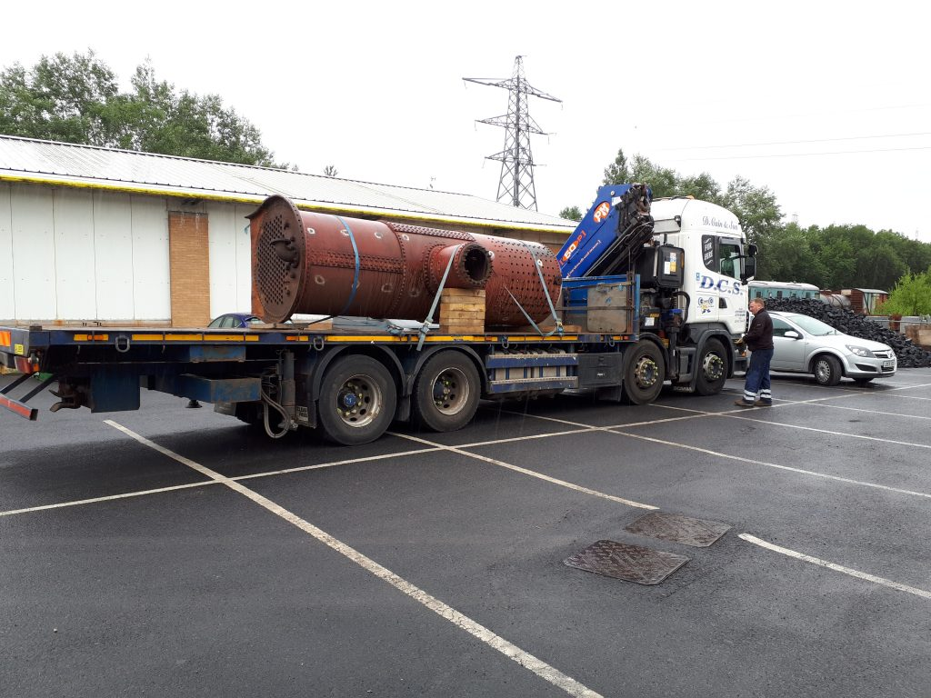 Glasshoughton's boiler returns from Llangollen