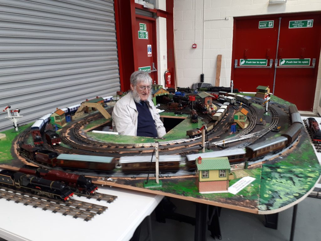 Alan in 3 rail heaven