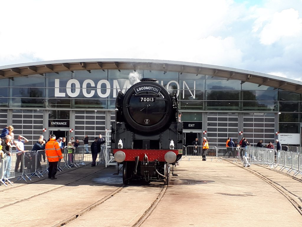 70013 at Locomotion, Shildon