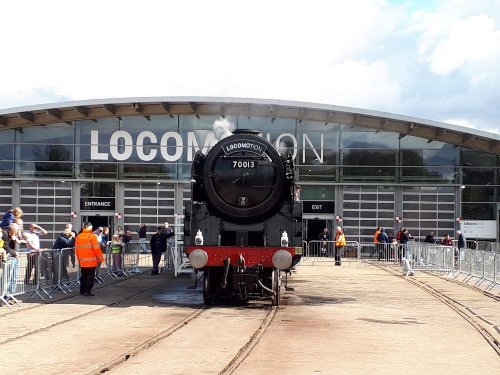 70013 at Locomotion, Shildon