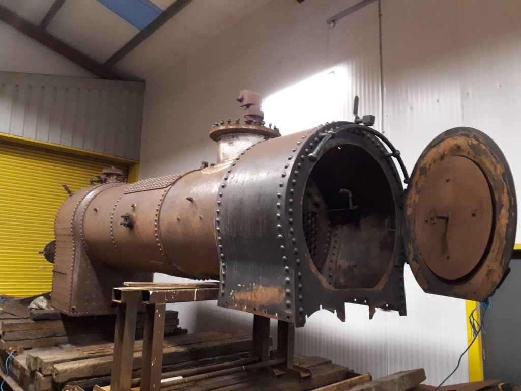 FR 20's boiler now re-positioned