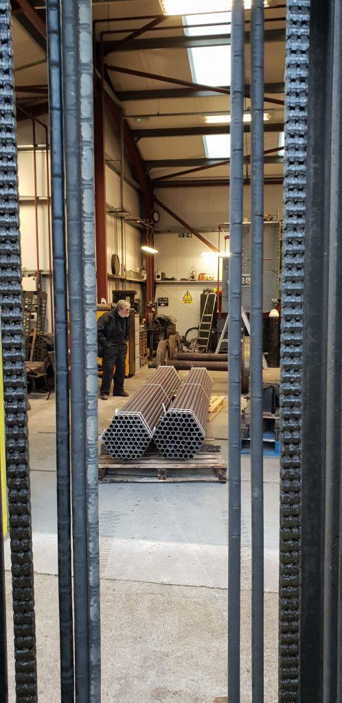 FR 20's new tubes arrive