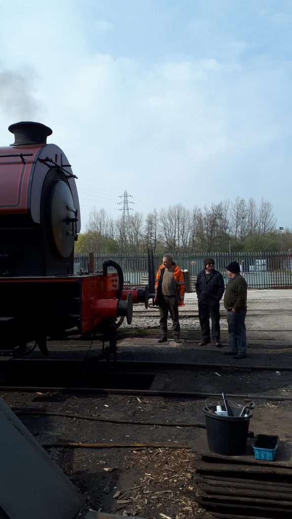 Cumbria back in steam with members Keith, Ade and Dave Starkie