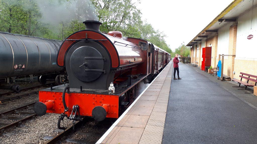Cumbria on the 11.30 train at Riverside Saturday 27th April