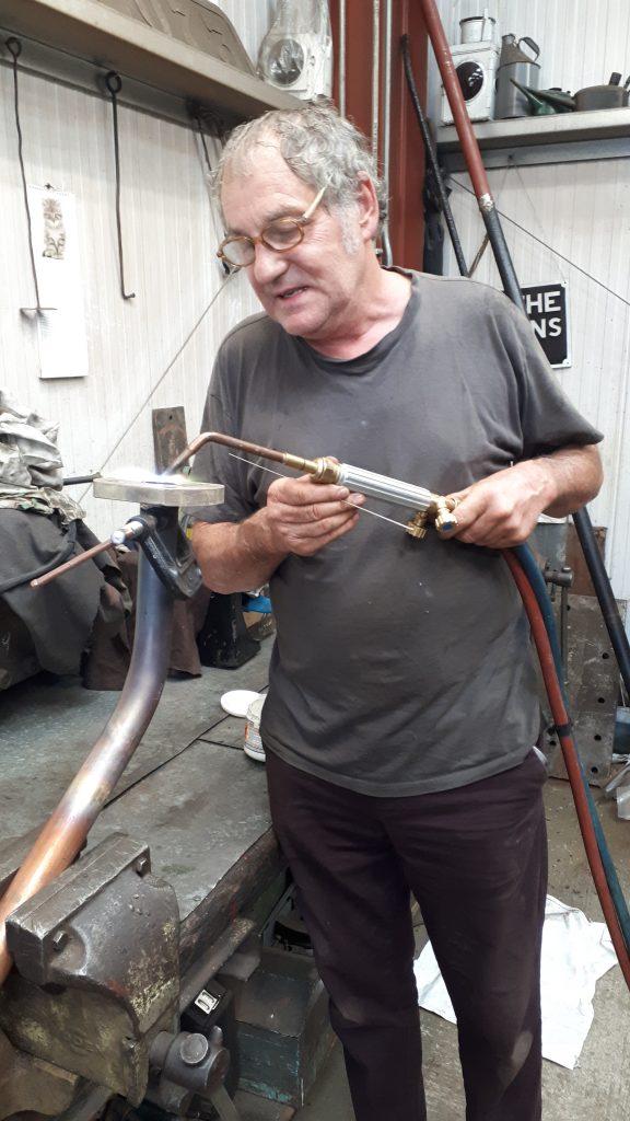 Keith silver soldering