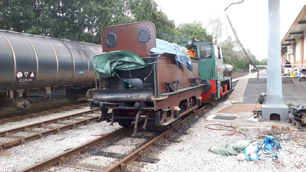 FR 20's tender being shunted around to the FRT shed