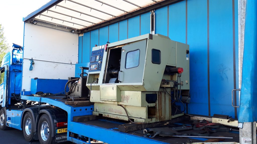 The 'new' CNC machine arrives
