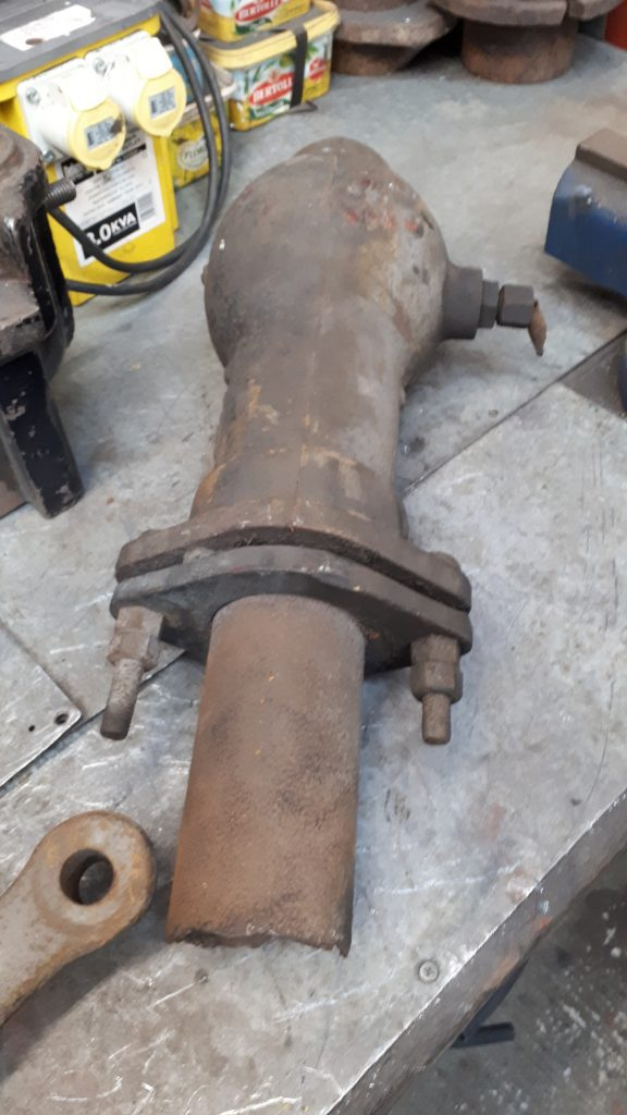 Secondhand ejector elbow for Wootton Hall
