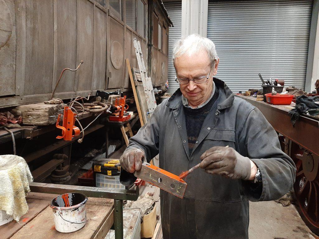 John Dixon painting brackets