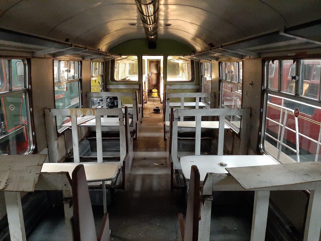 The interior of TSO 5036 looks bare
