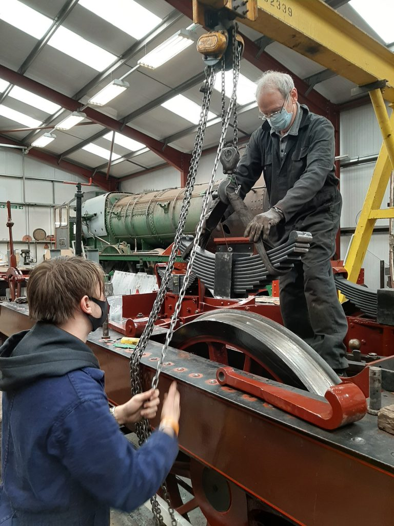 Matthew and John Dixon fit one of FR 20's new springs