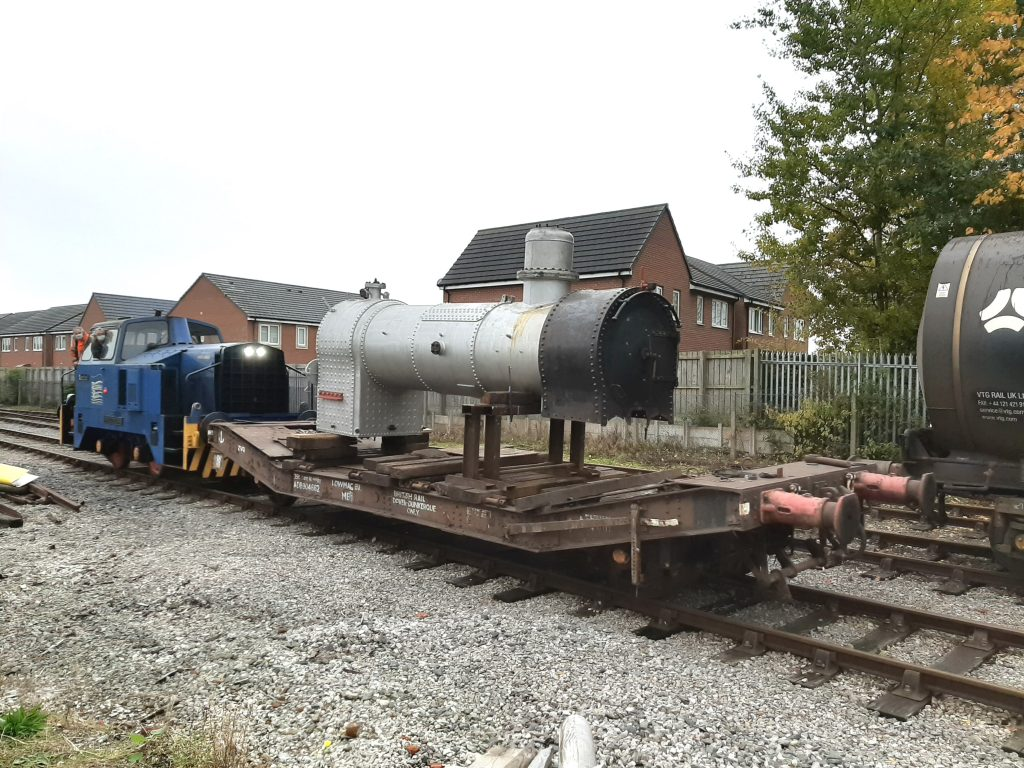 FR 20's boiler being moved to the west of the site