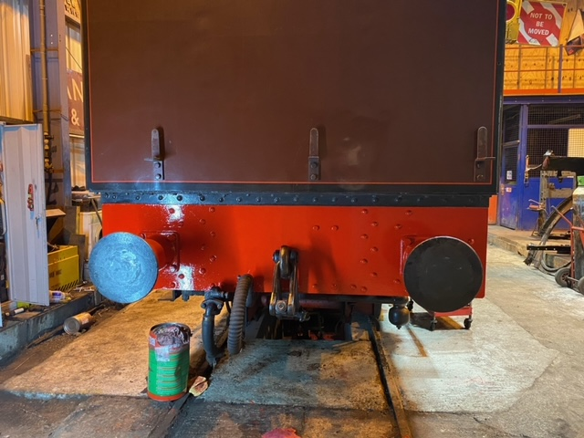 Cumbria' re-painted rear buffer beam