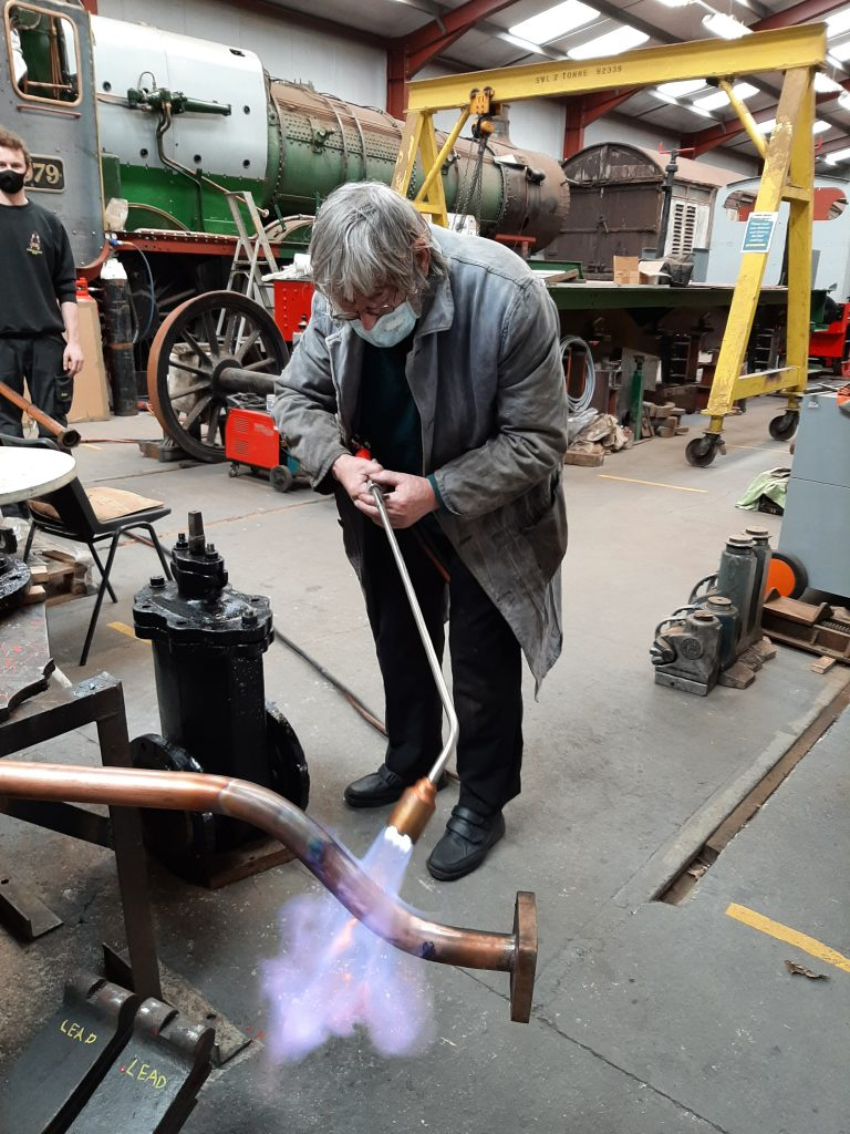 Alan annealing copper steam pipes for FR 20