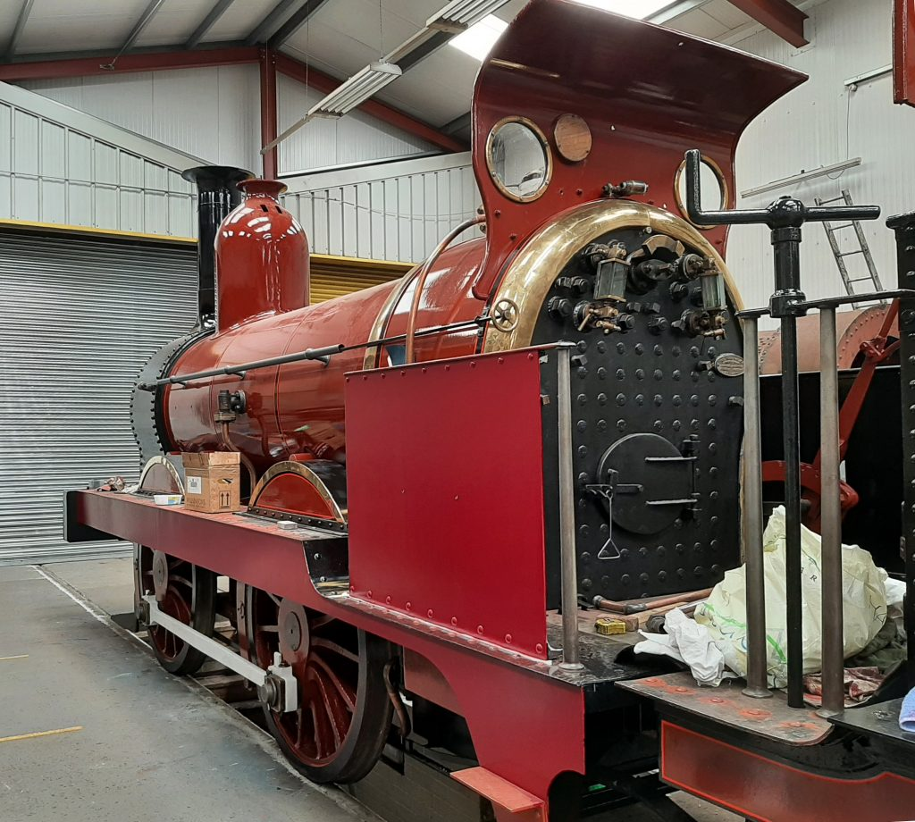 FR 20 with partly painted cab sides