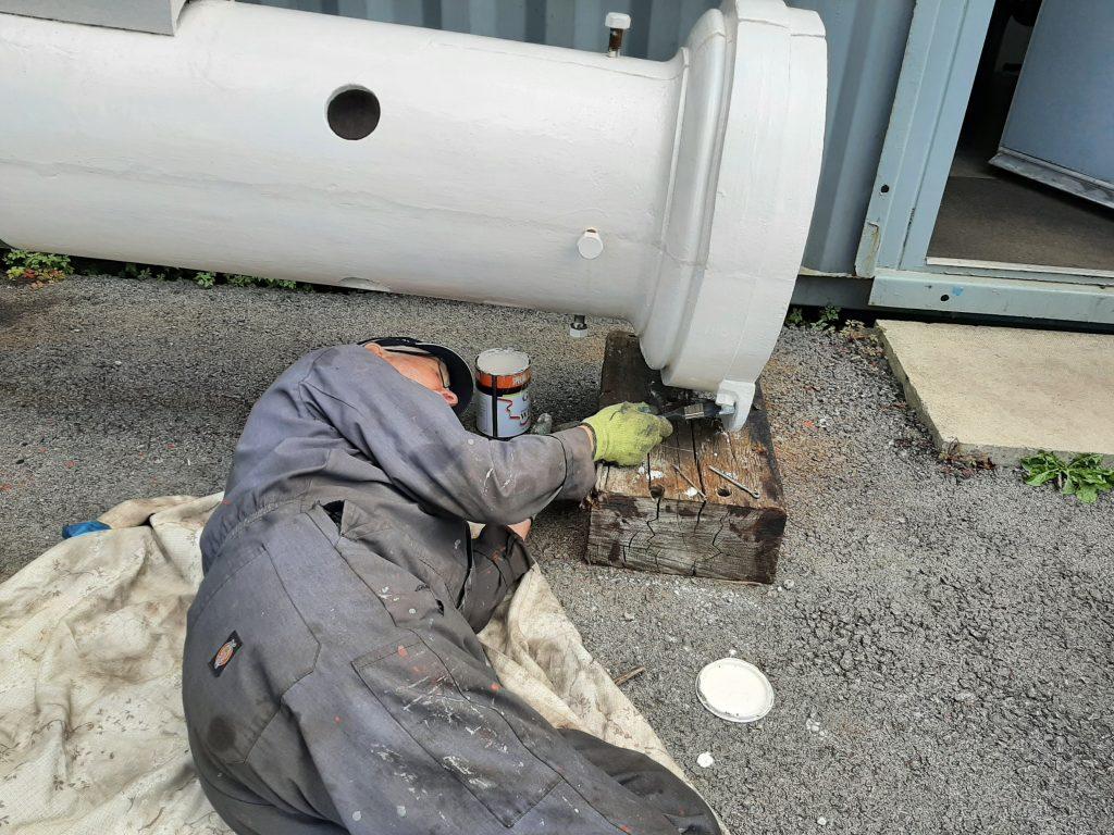 Roger lying down on the job