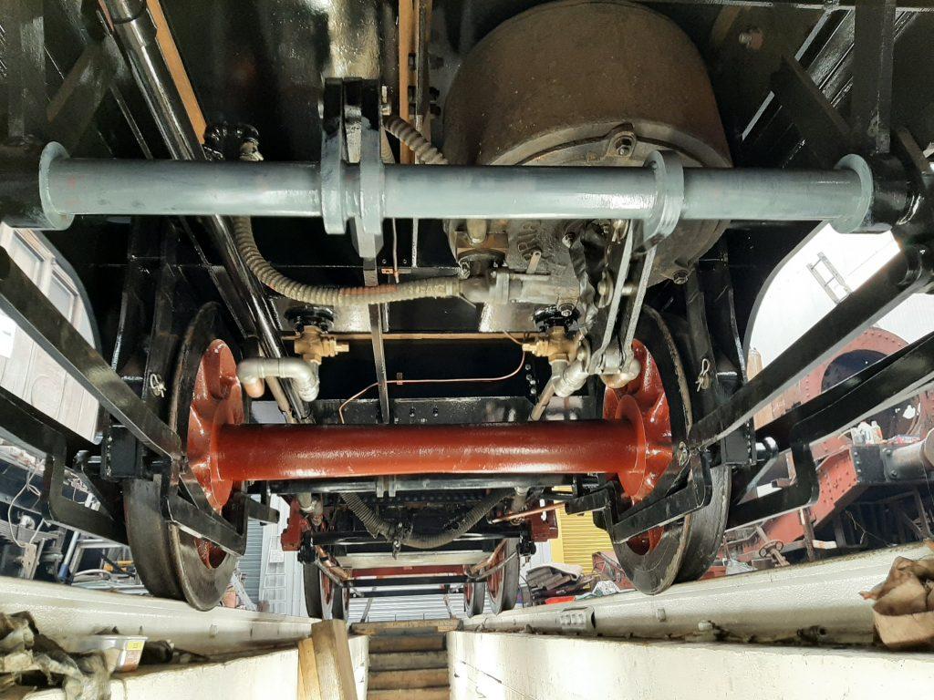 Underneath FR 20's tender