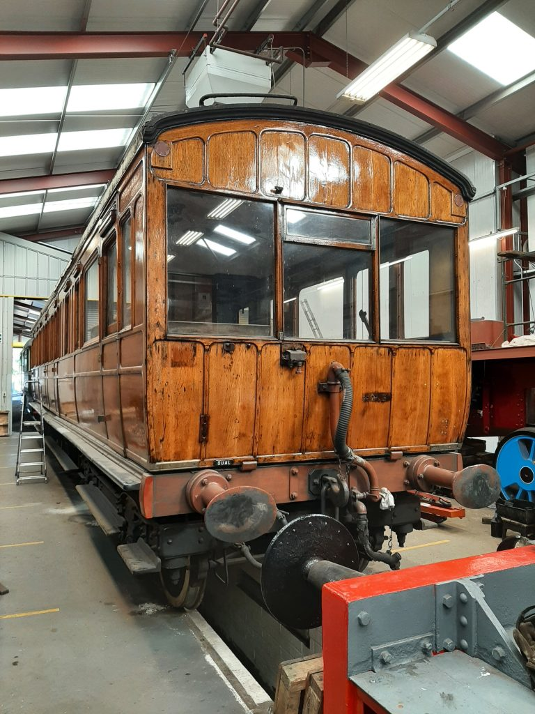 GER 5 back in the main FRT shed