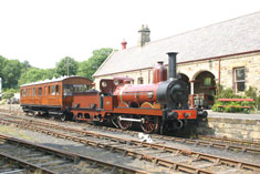 FR20 and GER5 at Rowley station in Beamish Museum