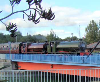 "With the RSR's ""Walkden"" doubleheading at the RSR September 2009 gala"